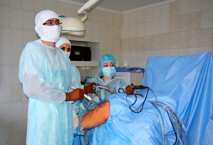 Артроскопия коленного сустава мениск