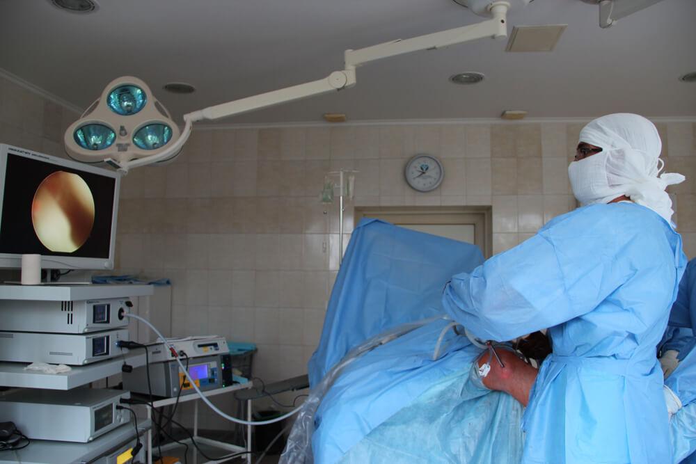Артроскопия мениска операция Запорожье